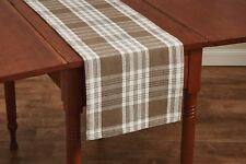 "Table Runner 36"" Long - Dylan in Taupe by Park Designs - Farmhouse"