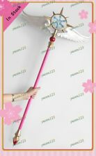 Cardcaptor Sakura: Clear Card Dream Wand Cosplay Prop Stage Perform PVC Wand