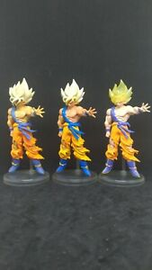 Bandai Dragonball Z HG Series Gashapon Figure Son Goku Super Saiyan Set of 3