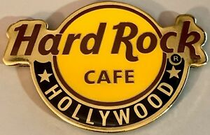 Hard Rock Cafe HOLLYWOOD BLVD. 2018 Classic Core HRC Logo MAGNET City Core GOLD