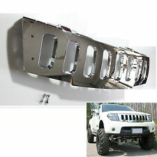 FRONT HEAD CHROME GRILL GRILLE HUMMER STYLE NISSAN FRONTIER  NAVARA D40 2005-09