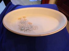 """MARKS AND SPENCER ' FIELD FLOWERS ' 12"""" OVAL SERVING DISH"""