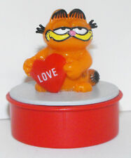 Garfield with Love Heart Red Ink Stamper