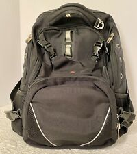 Black Victorinox Swiss Army SwissGear Backpack / Daypack / Computer Bag EUC