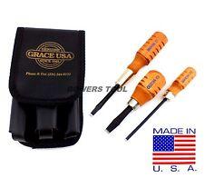 Grace Gunsmith Screwdriver Set for Peacemaker 3pc Gun Care HG-3 Made in USA