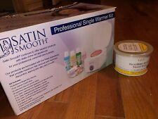 Satin Smooth SSW12C Professional Single Wax Warmer Kit + Gigi Brazilian Hard Wax