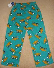 PHINEAS & FERB *Perry* Fleece Lounge Pants Pajamas Boys sz 6/7