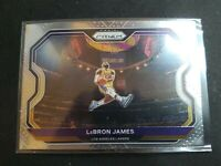 2020-21 LEBRON JAMES Panini PRIZM Base #1 Los Angeles Lakers