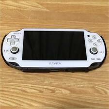 ps playstation vita white console only From japan