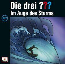 Die drei ??? Fragezeichen - 197 Im Auge Des Sturms CD NEU & OVP