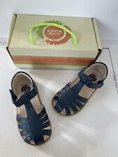Livie And Luca Girls Navy Paz Sandals Size 8 New