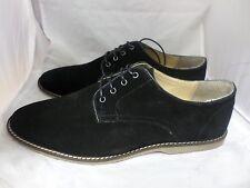 ASOS zapatos de Desierto En Gamuza Negra UK7.5 EU41 JS26 63