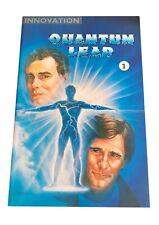 Quantum Leap Comic Book Volume 1 Number 1 Innovation Comics 1991