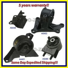 Fits: 2000 Mazda 626 2.0L Engine Motor & Trans. Mount Set 4PCS for Auto Trans.