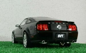 1/18 2008 Shelby Collectibles GT500KR Ford Mustang black diecast model car