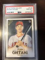 2018 Topps Gallery Shohei Ohtani PSA-10 Gem Mint Rookie … Los Angeles Angels 🔥
