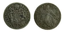 pcc1905) ROMA - Pio VI (1775-1799) - Quinto di scudo 1775 A. I Munt. 35