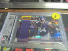 Cordelle Patterson Minnesota Vikings 2013 Rookies & Stars Jersey Card Graded 8.5