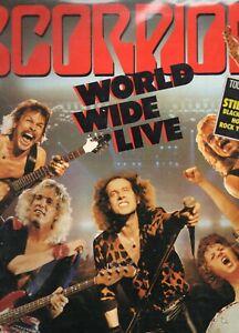 SCORPIONS - WORLD WIDE LIVE - 2 LP 33 T