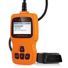 OBD2 Car Diagnostic Scanner Auto Engine Fault Code Reader Tool OBDII LCD Display