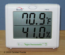 Temperature Humidity Meter Hygrometer Hydroponics Thermometer Greenhouse TH812
