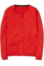Boden Hip Length Cotton Button Jumpers & Cardigans for Women