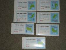 Grenadines of St. Vincent Map Type-7 Different Islands, Complete Booklets,