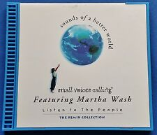 Small Voices Martha Wash Listen To The People CD Remix Collection Pablo La Rosa
