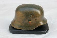 Helm Deutsch WW2 - -beschwerer Papier über sockel ( Höhe : 6 cm )