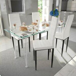 Sedie Da Pranzo Bianchi In Acciaio Per La Casa Acquisti Online Su Ebay