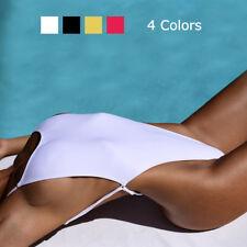 Para Mujeres Sexy Tanga Swimwear Traje de baño de una pieza traje de baño Monokini sin espalda cortado