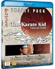 The Karate Kid Collection NEW Classic Blu-Ray 3-Disc Set Ralph Macchio P. Morita