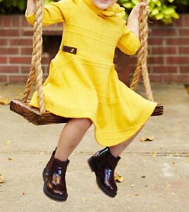 Zara Toddler Deep Maroon Chelsea Boot Size 6