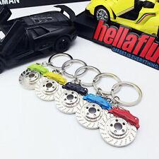 Alloy Zinc Creative Keykinder Disc Brake Keychain Keyfob KeyRing Keyfinder
