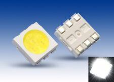 S922 - 50 Pièce SMD LED PLCC-6 5050 blanc 3-puces LEDs blancheur