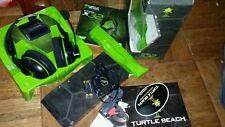 Turtle Beach Ear Force X32 Black/Green Headband Headsets for Microsoft Xbox 360