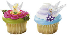 NEW DISNEY FAIRIES TINKERBELL AND PERIWINKLE  CUPCAKE RINGS (12)