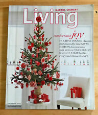 Martha Stewart Living 2004 Christmas Bows Dips Carnations Vintage Trees Candles