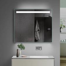 Bad Lichtspiegel Badezimmerspiegel mit Kalt/Warmlicht und Steckdose - 60x70 cm