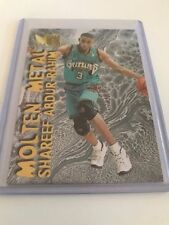 Fleer Not Autographed 1996-97 Season NBA Basketball Trading Cards