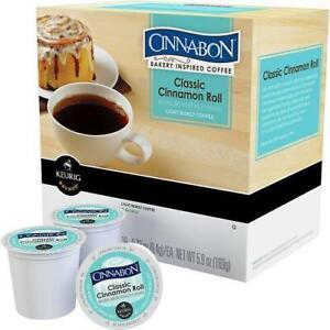 Cinnabon Classic Cinnamon Roll Keurig K-Cups