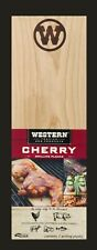 Western wood Grilling Planks Cherry 14 in x 5 in - 2-2 PACKS-4 Planks Total