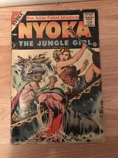 NYOKA, THE JUNGLE GIRL #16 AWESOME GOLDEN AGE COMIC SEE THE PICS!!