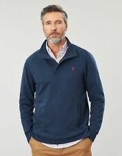 Joules Mens Deckside Half Zip Sweat - Navy - Xl