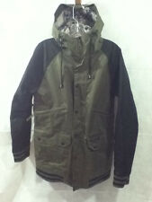 Burton Restricted Parents Jacket Snowboard Ski Mens Sz Small Olive Green LIMITED