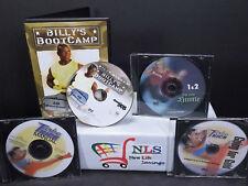 Turbo Kick, Billy Blanks Ab Bootcamp & Hip Hop Hustle 1 & 2 Dvd Lot
