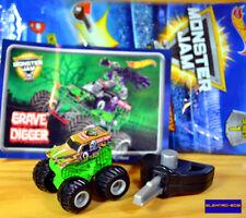 Hot Wheels Monster Jam Mystery Trucks CHASE Grave Digger [Chrome] S1 Sealed/XHTF