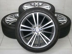 Original Mercedes CLS C257 W257 19 Zoll A2574010300 Alufelgen  Sommerräder RDK