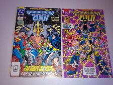 DC Comics Armageddon 2001 #1 to 2 Complete Mini Series 1st Waverider & Monarch