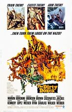 The Dirty Dozen movie poster  -  11 x 17 inches - Lee Marvin, Ernest Bornine